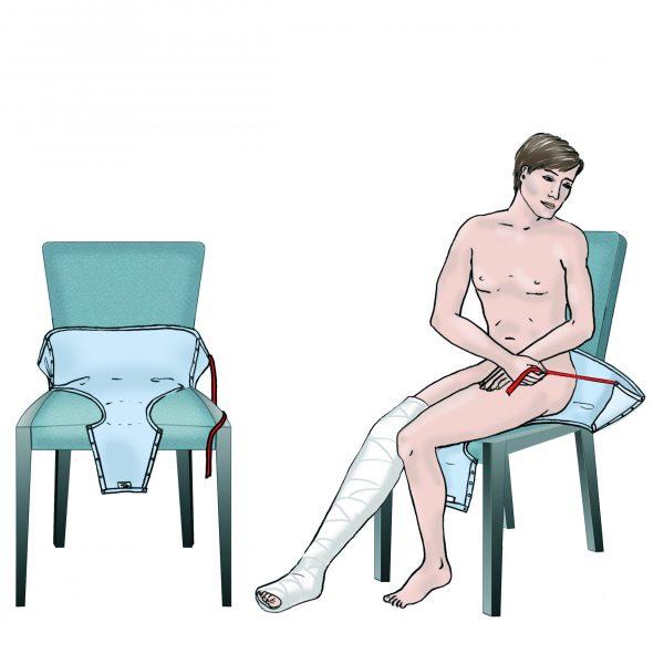 Hose anziehen m. Anziehhilfe.web2